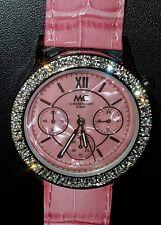 NEU DAMEN Armbanduhr MC Chronograph 5 bar rosa pink in Schmuckschatulle