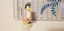 Vintage Beatrix Potter Royal Albert Jemima Puddleduck Ceramic Figurine 1989