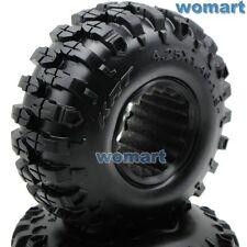 2 Stück RC 1.9 Rock Crawler Reifen Tires tyre 108mm für RC 4WD 1.9 Beadlock Rims