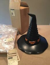 Longaberger 2011 Large Witch Hat Mint Condition Original Tags & Boxes Halloween