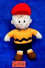 Peluche n°Q154: CHARLIE BROWN  (copain de Snoopy) 18cm env. PEANUTS