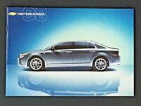 2008 Chevy Brochure Full Line Sales Chevrolet Car Truck Corvette Impala Tahoe