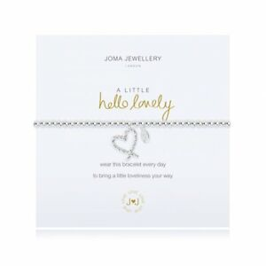 Joma Jewellery A Little HELLO LOVELY Silver Plated Beaded Bracelet + Gift Bag