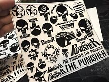 Scaled RC Punisher Stickers 1/10 1/8 traxxas axial redcat losi HPI