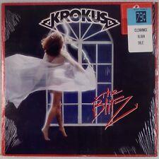 KROKUS: The Blitz USA Arista '84 Power Heavy Metal OG Shrink LP NM Wax