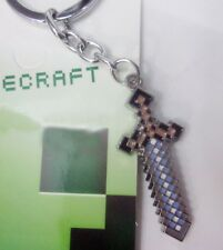 Minecraft Weapon Keychain USA SELLER! FAST SHIPPING!
