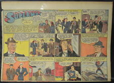 SUPERMAN SUNDAY COMIC STRIP #40 Aug 11, 1940 2/3 FULL Page DC Comics RARE