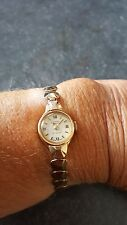 Rotary ladies 9 carat 21j solid Gold Watch