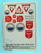 Accurate Armour 1:35 WW2 UK Services Logos 1 DE29*