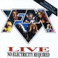 FM - Live No Electricity Required CD NEU OVP