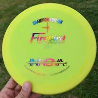 CE FIREBIRD Innova Disc Golf NEW Max Weight 175g Rainbow Stamp FLAT