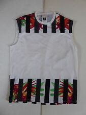VTG VERSUS BY VERSACE MEN'S TROPICAL SPANDEX-COTTON - MUSCLE SHIRT MADE IN ITALY