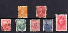 Argentina 1892-1912 Colección de 7 Mh/VFU X4269