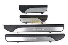 Stainless Door sill scuff plate Guards Sills For Honda Accord 2013-2014 4Pcs
