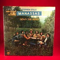 STEPHEN STILLS MANASSAS Down The Road 1974 UK Vinyl LP + INNER Excellent Cond