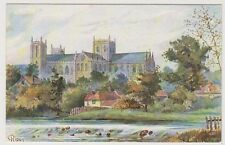 Yorkshire (North) postcard - Ripon Cathedral - Tuck Oilette