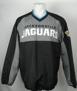 Jacksonville Jaguars Men's NFL Team Apparel Pullover Windbreaker Jacket NFL L