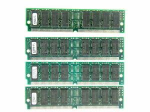 64MB 4X16MB Micron MT8D432M-6X  Original EDO 60ns Tin 72-pin SIMM