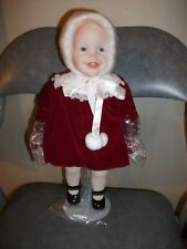 Jennifer 14 inch Porcelain Doll Yolanda's Picture Perfect Babies Ashton-Drake