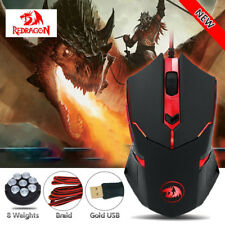 Redragon M601 CENTROPHORUS-3200 DPI Gaming Mouse  6 Buttons Weight Tuning Gaming