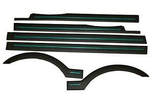 Zierleisten Satz / Leisten Blenden für Peugeot 106 I MK1