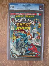 Marvel Team-Up   #15   CGC 7.0   Spider-Man   Ghost Rider