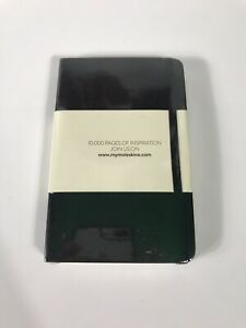 Moleskine Black Soft Cover Notepad - Brand New and Sealed