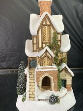 David Winter Cottages At Home With Comfort & Joy 1996 Christmas Special #0137/