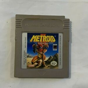 Metroid 2 GameBoy Game Metroid II: Return of Samus (Game Boy, 1991) - Cartridge