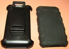 Speck ToughSkin Silicone case with holster for Apple iPhone 3G/3GS, BLACK, NEW