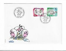 Switzerland 2003 Diddl FDC Bern postmark used postage stamps - pre-owned