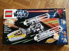 Lego 9495 Star Wars Y-Wing Ywing Fighter Skywalker Minifigure DUTCH VANDER Leia