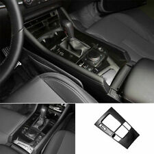 For Mazda 3 Axela 2019-2021 ABS Gloss Black Middle Console Gear Shift Panel Trim