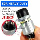 12 Volt DC Heavy-Duty Momentary Push-Button Starter Switch (50 Amps)
