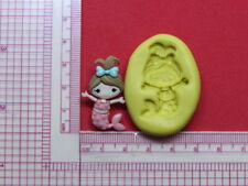 Mermaid Silicone Mold A963 Acrylic Resin for Edible Candy Wax Soap Fondant