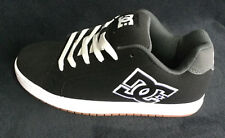 DC COURT RS LOW SUEDE SKATE SNEAKERS MEN SHOES BLACK/WHITE SIZE 9 NEW