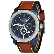 Fossil FS5232 Machine Chronograph Blue Dial Men's Watch