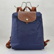 Free Post Longchamp Le Pliage Navy Blue Nylon Backpack Adjustable Straps