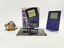 "Nintendo Gameboy Color Konsole "" Lila "" Ovp | Pal | Game Boy"