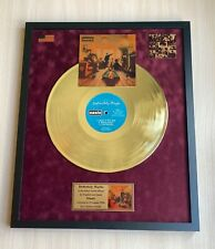 Oasis Definitely Maybe 1994 Custom 24k Gold Vinyl Record in Wall Hanging Frame