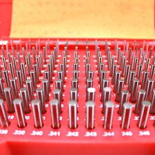 Hfsr 190 Pcs 061 250 M1 Class Zz Steel Pin Gage Set Plus