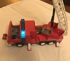 Playmobil Konvolut  aus Set 3182 Feuerwehr / 4428 SOS- Helikopter/-Boot +4227