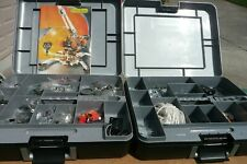 MECCANO Special Edition 7080 Crane Sets In Case With Manual Nearly 2 Full Sets