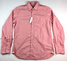 J. Crew Men's NWT Pink Slim Long Sleeve Dress Shirt Size Large