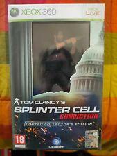 Splinter Cell Conviction Limited Collector's Edition XBOX 360 PAL ITA Sigillato