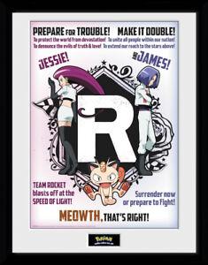 Pokemon Team Rocket Collector Print