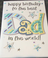 Best Dad Birthday Card by Eclipse, 94 available - Multi listing.