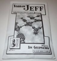 Starbase Jeff COMPLETE Cheapass Games CAG 017 Jim Geldmacher Space Strategy
