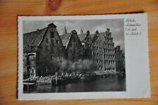 AK Lübeck, s/w, ungelaufen um 1930, Salzspreicher