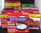 Rapid Brands Cookers - Rice, Egg, Ramen, Brownie, Mac, Veggie & Pizza